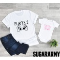 Father and Daughter outfit ★ PLAYER 1& PLAYER 2 ★