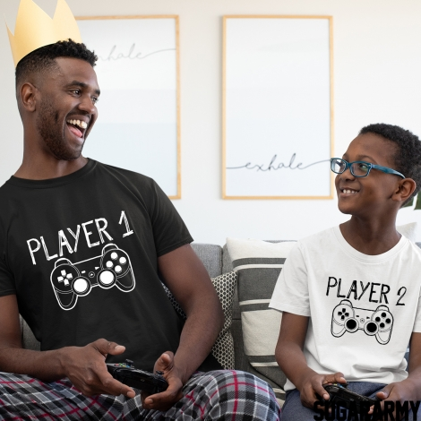 Father and Son outfit ★ PLAYER 1& PLAYER 2 ★