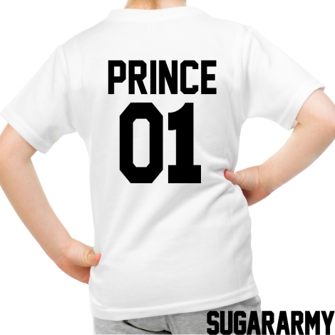PRINCE 01 kid t-shirt CUSTOM NUMBER
