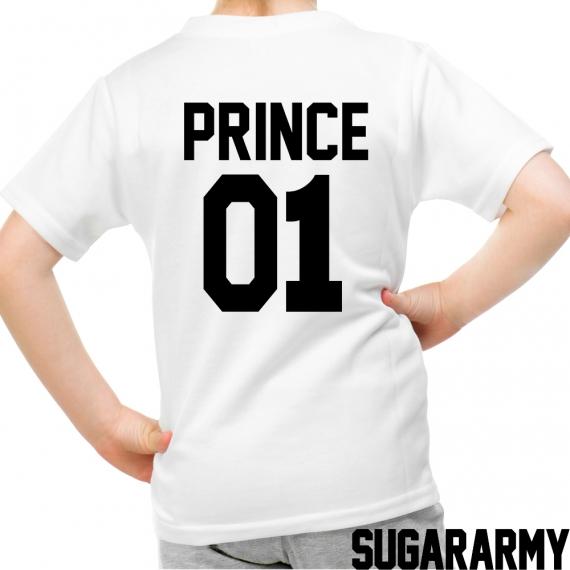 PRINCE 01 kid t-shirt CUSTOM NUMBER