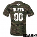 Camouflage QUEEN t-shirt ★ SPECIAL EDITION ★