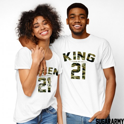 KING & QUEEN - COUPLES T-SHIRTS SET