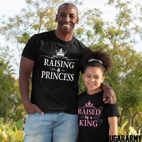 RAISING A PRINCESS RAISED BY A KING Hot Pink Matching Set