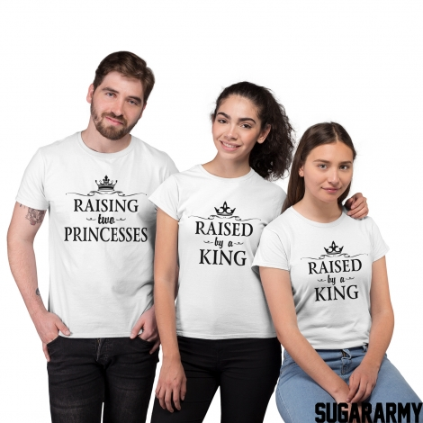 RAISING TWO PRINCESSES matching family set