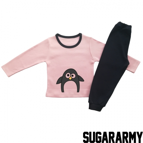 SINGLE PENGUIN - PINK PAJAMA