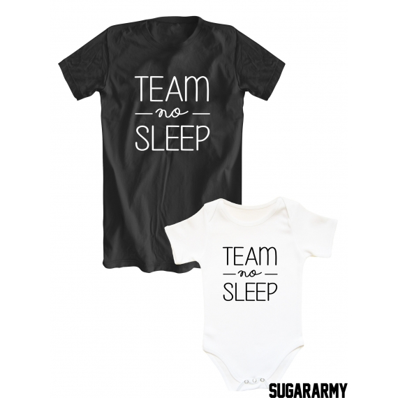 TEAM NO SLEEP awesome matching set