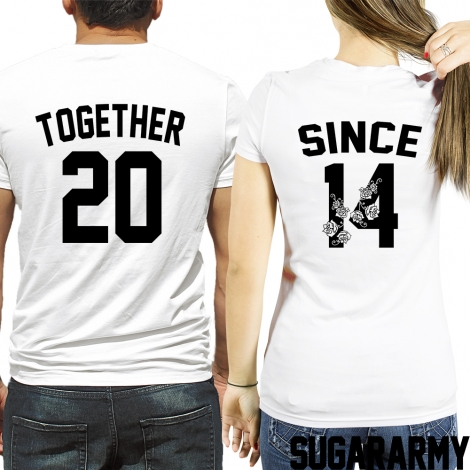 Together since t-shirts ★ FLOWER EDITION ★