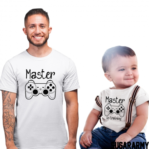 Father and Kid outfit ★ MASTER & MASTER IN TRAINING ★