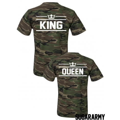 Matching KING and QUEEN t-shirts ★ SPECIAL ARMY COLLECTION ★