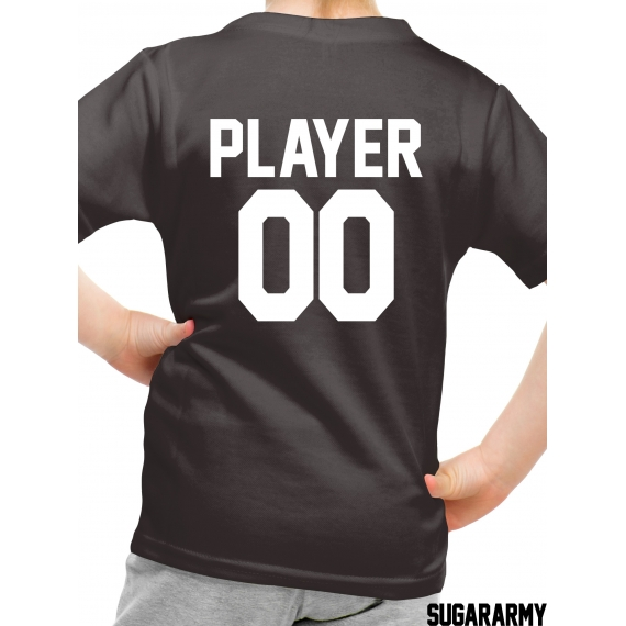 PLAYER 00 t-shirt with CUSTOM NUMBER