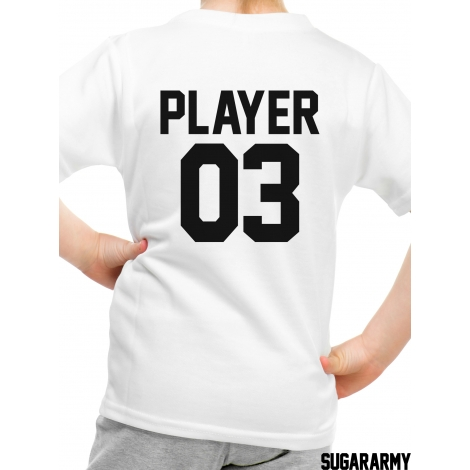 Player 03 kid t-shirt