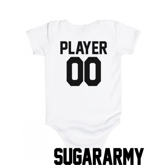 PLAYER -- Custom number bodysuit