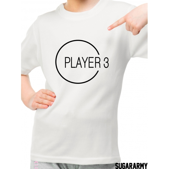 Player 3 kid t-shirt