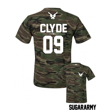 CLYDE t-shirt ★ the CAMO COLLECTION ★