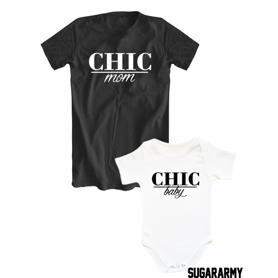CHIC mom/CHIC baby mommy and me matching set