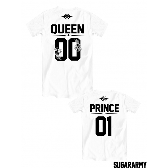 Queen and Prince matching t-shirts