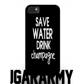 Save water Drink Champagne phone case