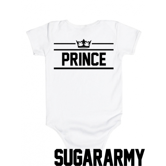 Royalty PRINCE baby bodysuit